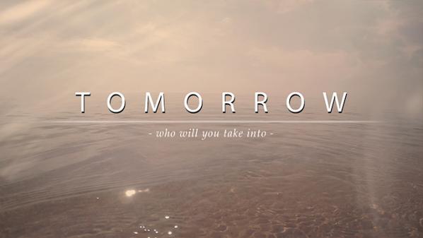 Series: Who Will You Take Into Tomorrow?