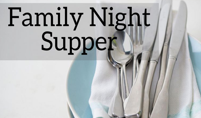 Family Night Supper Online Order Form