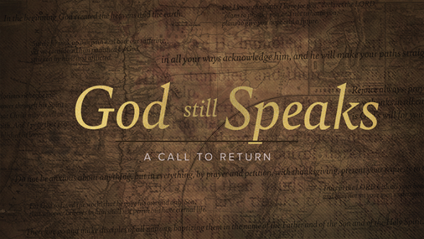 Series: He's Still Speaking